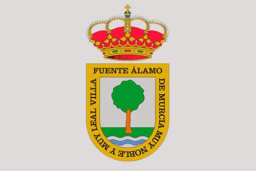 Escudo Heráldico Oficial de la Villa de Fuente Álamo de Murcia