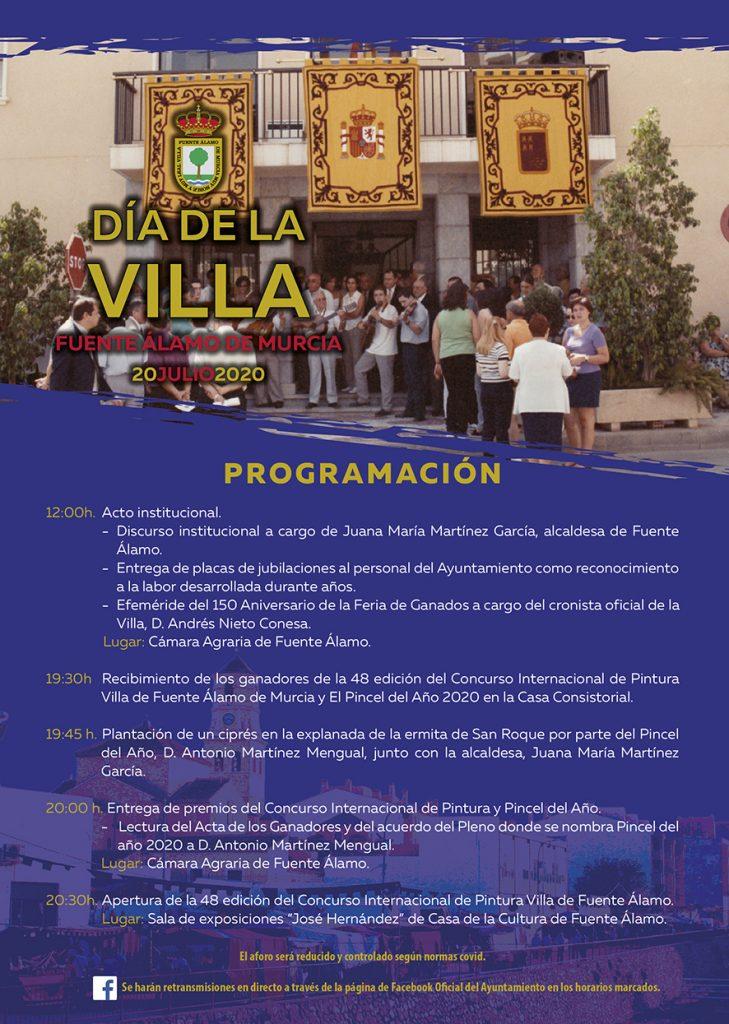 Fuente Álamo celebrará el 'Día de la Villa'