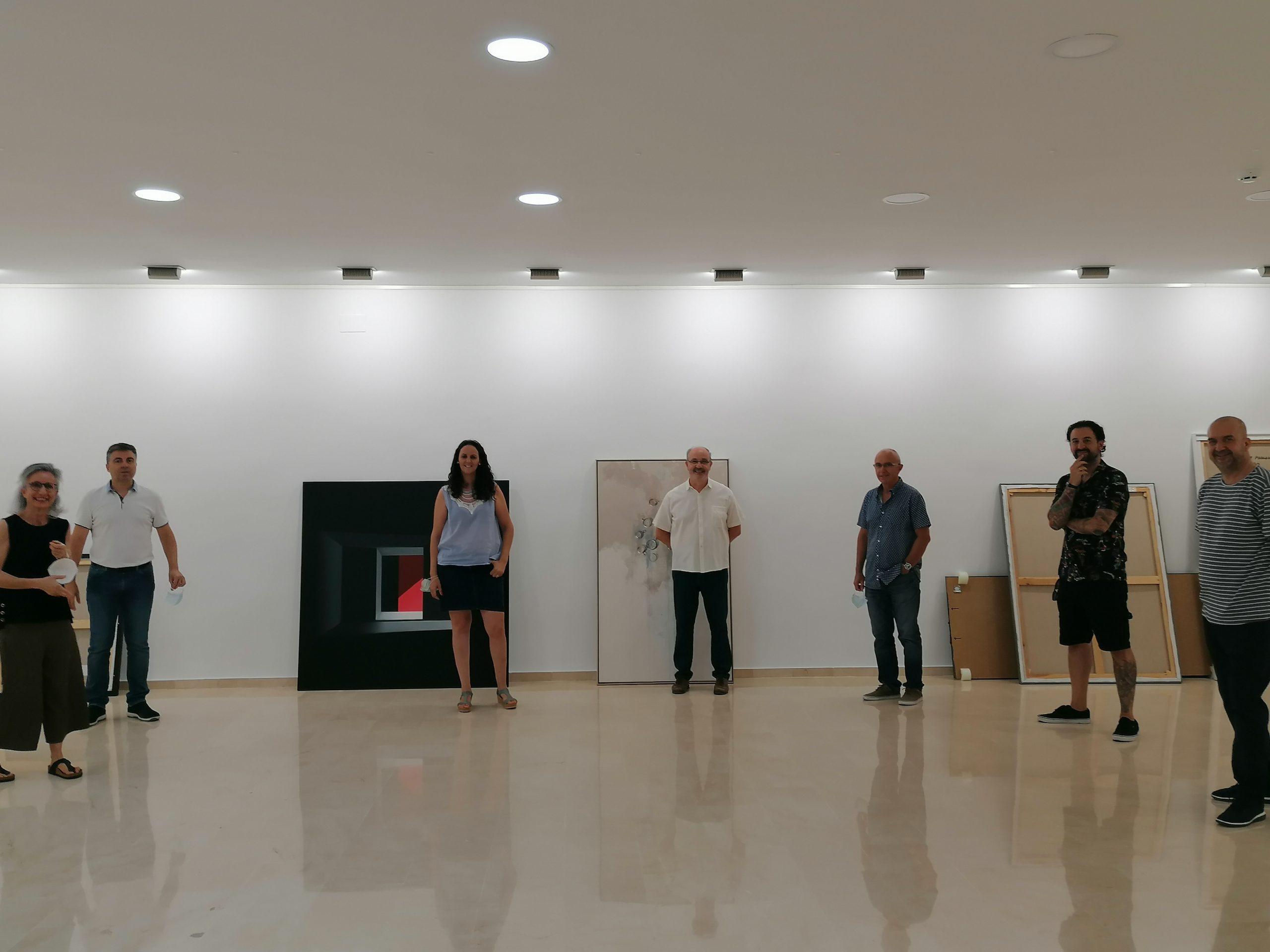 Mónica Dixon y Nono García, ganadores del Concurso Internacional de Pintura Villa de Fuente Álamo 2020
