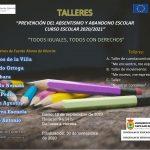 Talleres 'Prevención del absentismo y abandono escolar' curso escolar 2020/2021