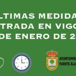 ÚLTIMAS MEDIDAS ENTRADA EN VIGOR 20 DE ENERO DE 2021