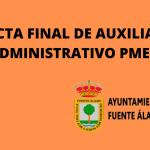 ACTA FINAL DE AUX. ADMINISTRATIVO PMEF